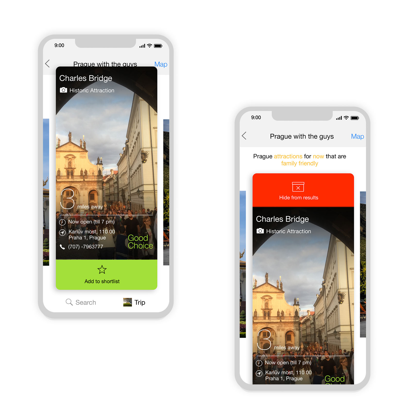 Desti iOS App