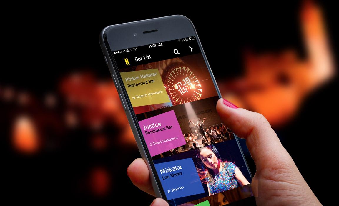 JLM – Nightlife app